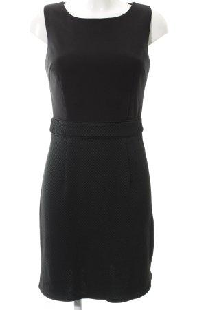 Zero Jerseykleid schwarz-dunkelgrün Elegant