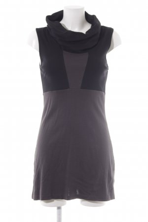 Zero Jerseykleid schwarz-graubraun Casual-Look