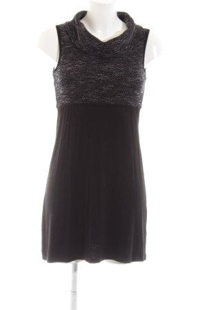Zero Jerseykleid schwarz meliert Casual-Look