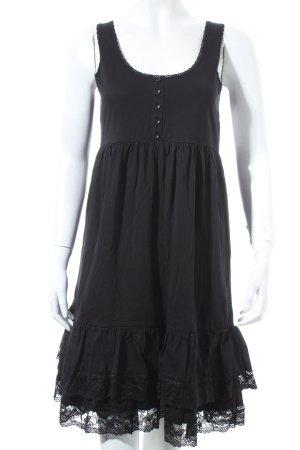 Zero Kleid schwarz Beach-Look