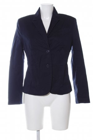 Zero Kurz-Blazer blau Business-Look