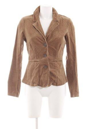 Zero Korte blazer bruin casual uitstraling