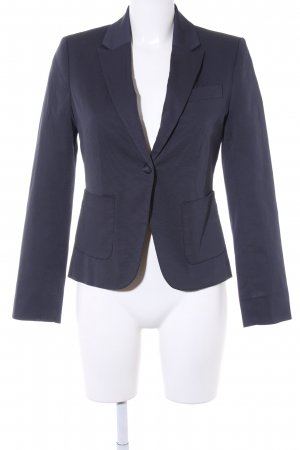 Zero Kurz-Blazer dunkelblau Business-Look