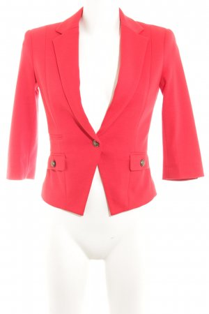 Zero Kurz-Blazer rot Business-Look