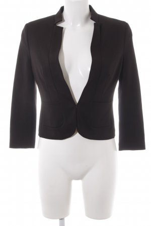 Zero Kurz-Blazer schwarz Business-Look