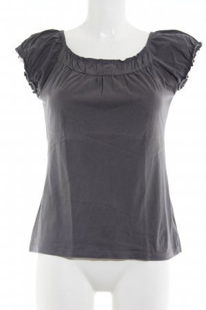 Zero Short Sleeved Blouse grey casual look