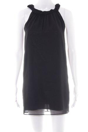Zero Kurzarmkleid schwarz Elegant