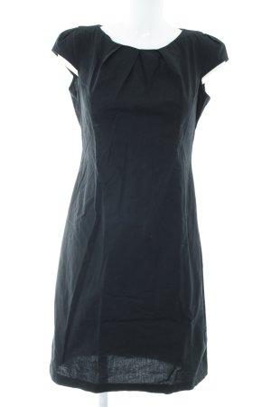 Zero Robe à manches courtes noir style simple