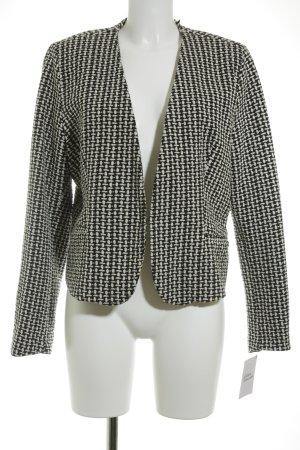 Zero Kurzjacke schwarz-weiß Casual-Look