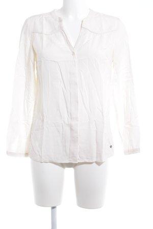 Zero Langarm-Bluse creme klassischer Stil