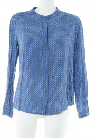 Zero Langarm-Bluse grafisches Muster Casual-Look