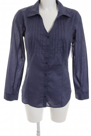 Zero Langarm-Bluse stahlblau Casual-Look