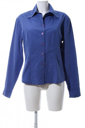 Zero Langarmhemd blau Casual-Look