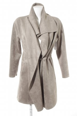 Zero Lange Jacke grau Elegant