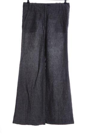 Zero Pantalón de lino gris claro look casual