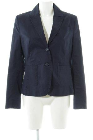 Zero Long-Blazer dunkelblau Business-Look