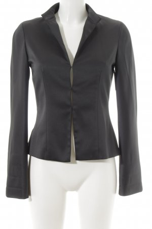 Zero Long-Blazer schwarz Casual-Look