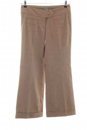 Zero Pantalone Marlene bianco sporco puntinato stile professionale