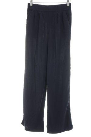 Zero Pantalón anchos azul oscuro Estilo playero