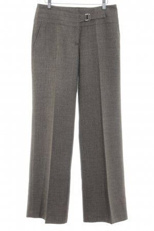 Zero Marlene Trousers light brown flecked business style