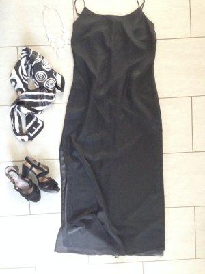 Zero Maxi abito nero-grigio
