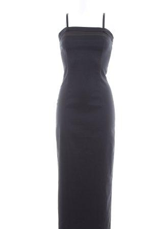 Zero Maxikleid schwarz Elegant