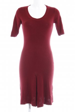 Zero Midi Dress dark red simple style