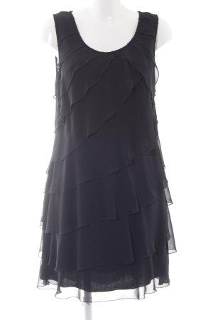 Zero Minikleid schwarz Elegant