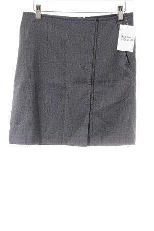 Zero Mini-jupe gris moucheté style d'affaires