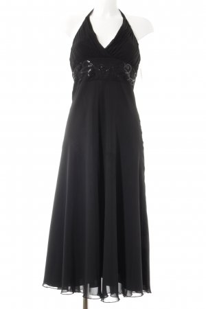 Zero Neckholderkleid schwarz Elegant