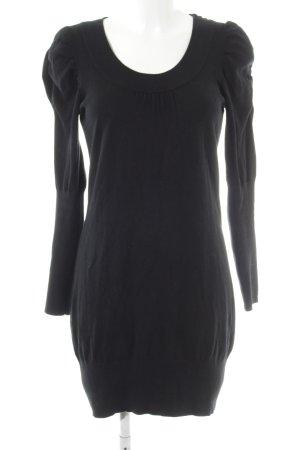 Zero Sweaterjurk zwart casual uitstraling