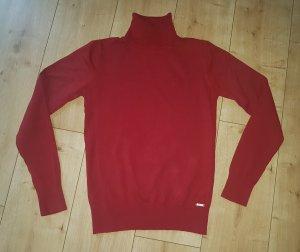 Zero Rollkragen Pullover Sweatshirt Herbst Winter Rot M 38