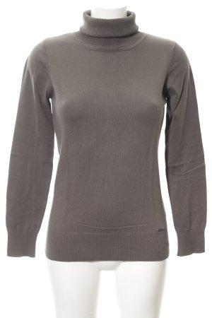 Zero Colshirt grijs-bruin