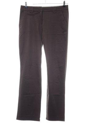 Zero Pantalón de campana marrón estilo «business»