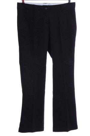 Zero Pantalón de campana negro estilo «business»
