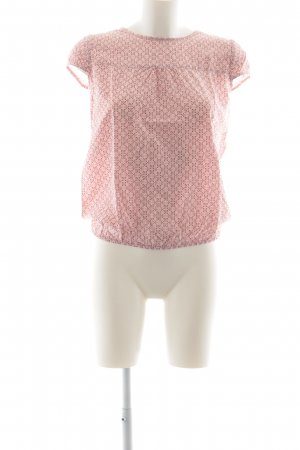 Zero Slip-over blouse abstract patroon casual uitstraling