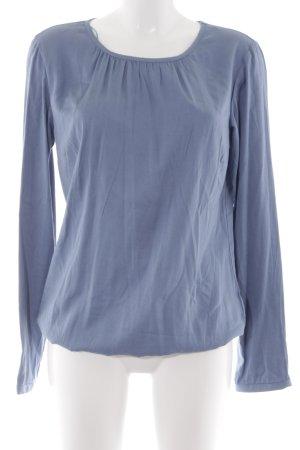 Zero Schlupf-Bluse blassblau Casual-Look