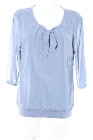 Zero Slip-over blouse lichtblauw casual uitstraling
