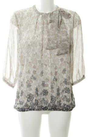 Zero Slip-over blouse bloemenprint elegant