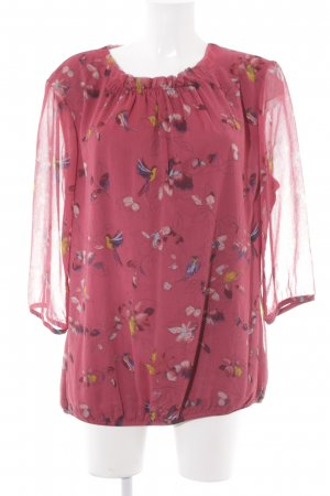 Zero Schlupf-Bluse florales Muster Casual-Look