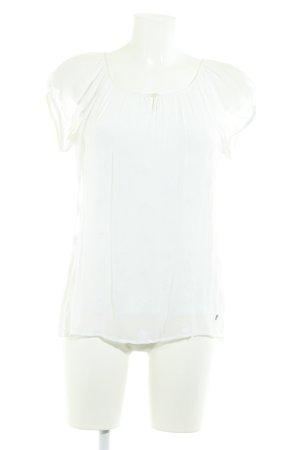 Zero Schlupf-Bluse wollweiß Elegant