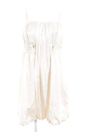Zero schulterfreies Kleid hellbeige Elegant