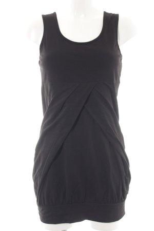Zero Off-The-Shoulder Dress black casual look