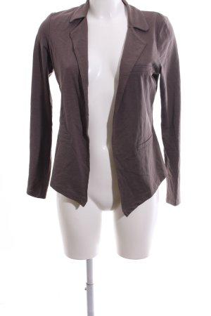 Zero Giacca-camicia marrone stile casual