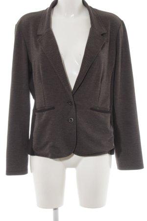 Zero Veste chemise gris foncé-noir motif rayé élégant