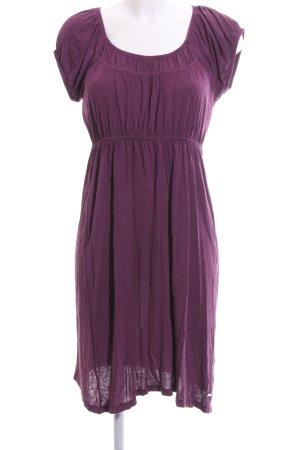 Zero Shirtkleid lila Casual-Look