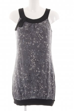 Zero Shirt Dress light grey-black allover print casual look