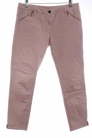 Zero Skinny Jeans altrosa florales Muster Casual-Look