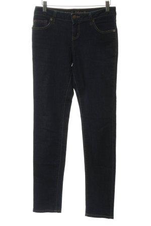 Zero Jeans slim bleu foncé style décontracté