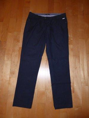 Zero Sommer Hose Chino Dunkelblau blau 38/30 Short w. Neu